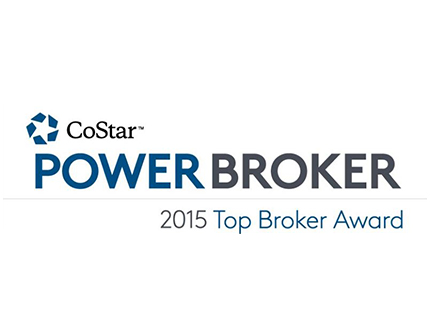 2015 COSTAR – POWER BROKER AWARD